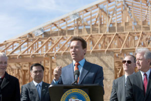 Gov. Schwarzenegger Announces Homebuyer Tax Credit in California