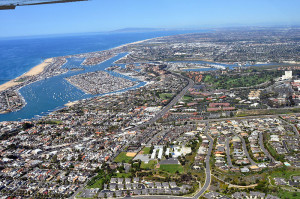 Newport Beach, California is one of the wealthiest cities in the U.S.